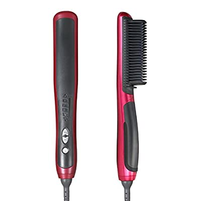 Hair Straightener, NexGadget Professional Detangling Hair Brush Hair Styling Comb Anti-Scald Hair Massage Straightening Irons
