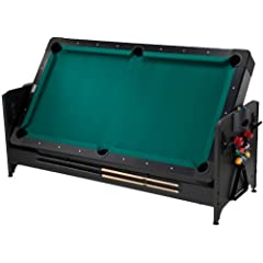 Buy Fat Cat Pockey 7ft Black 3-in-1 Air Hockey, Billiards, and Table Tennis Table by Fat Cat