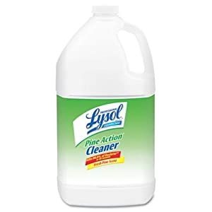 Professional Lysol Brand RAC02814 Disinfectant Pine Action Cleaner 1 gal. Bottle, N/A