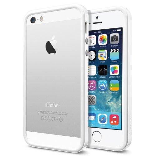 国内正規品SPIGEN SGP iPhone5/5S ケース ネオ・ハイブリッド EX スリム スノー [インフィニティ・ホワイト] SGP10032