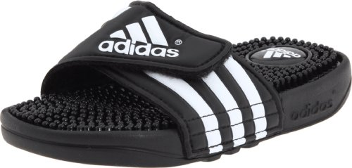 Adidas Adissage Sandal (Toddler/Little Kid/Big Kid),Black/Running White/Black,6 M Us Big Kid front-1034040
