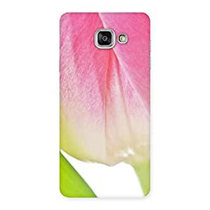 Delighted Pink And White Back Case Cover for Galaxy A7 2016