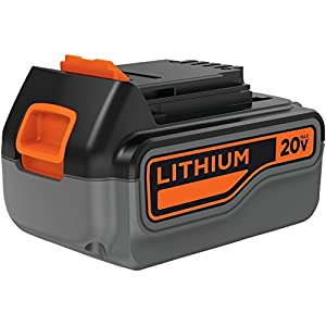 Black & Decker LB2X4020-OPE 4.0 Ah Lithium Battery Pack, 20-volt