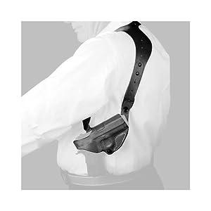 Desantis C.E.O. Shoulder Rig Holster fits Beretta PX4 Storm 9/40, Right Hand, Black