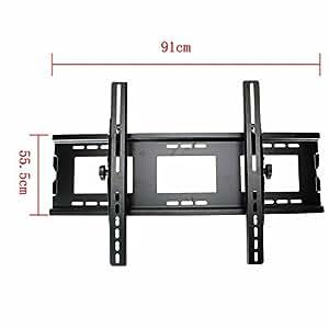 tilt tv wall mount bracket for most 24 52 inch lcd led tv with vesa up to 670x440. Black Bedroom Furniture Sets. Home Design Ideas