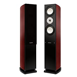 Fluance XL7F High Performance Home Theater Three-way Floorstanding Tower Loudspeakers with 8-inch Downfiring Subwoofer