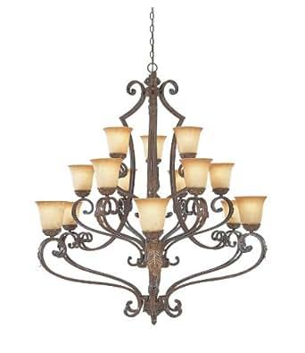 976815-VBG Venetian Bronze Gold Colmar Chandelier - - Amazon.com