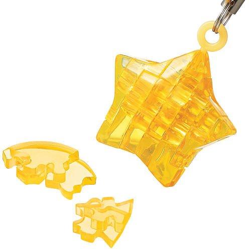 3D Crystal Puzzle Mini Star: 12 Pcs пазлы crystal puzzle 3d головоломка вулкан 40 деталей