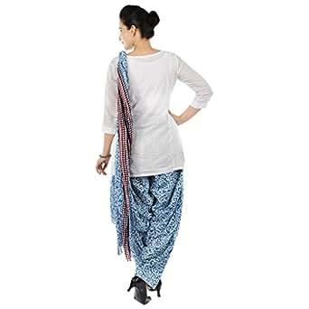 RANGKRIT Women's Cotton Patiala Set (RANGKRIT-PSWD-09-F_Multi-Coloured_Free Size)