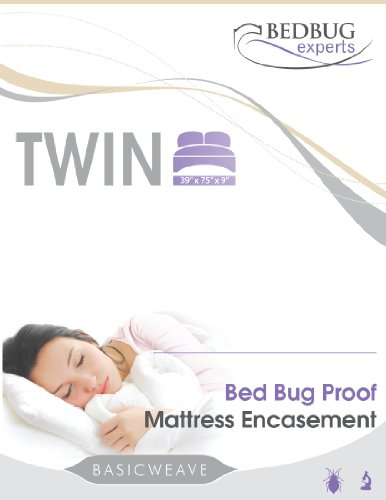 Bed Bug Cover Mattress or Box Spring Encasement Twin Size 39 X 75 X 9 Bed Bug Cover (Twin Size Matress 39 compare prices)