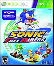 New Sega Sonic Free Riders Xbox 360 Crouch & Jump To Pull Huge Airs Race Up To 7 Friends Online