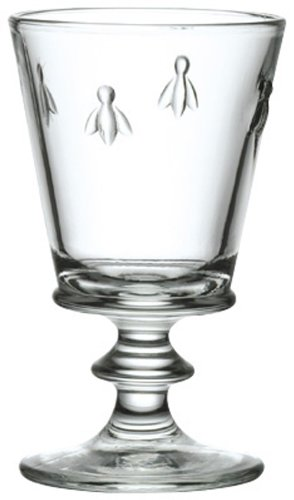 La Rochere Bee Decor 12.5 Ounce Footed Water Goblet Set of 6
