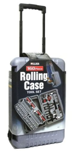 Allied Tools 69099 160 Piece Rolling Case Tool Set