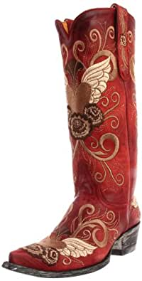 Old Gringo Women's Grace Western Boot,Red,5 B US