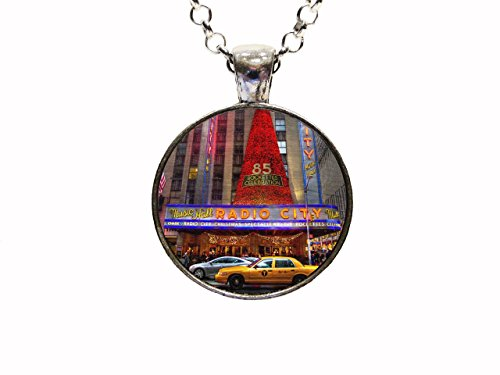 Radio City Music Hall Pendant Necklace Or Key Chain Rockettes Dance Music New York City