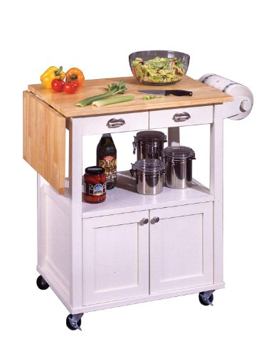 Cheap Wood Top Kitchen Cart (5035-95)