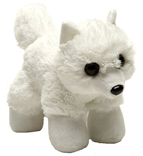 Wild Republic Hug Ems Arctic Fox Plush Toy