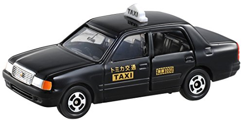 Takara Tomy Tomica #051 Toyota Crown Comfort Taxi - 1