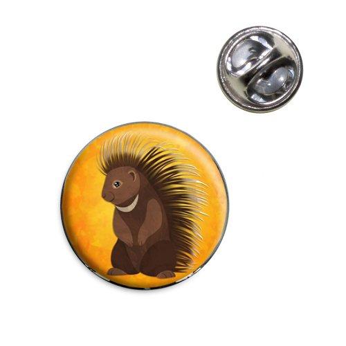 Porcupine Lapel Hat Tie Pin Tack