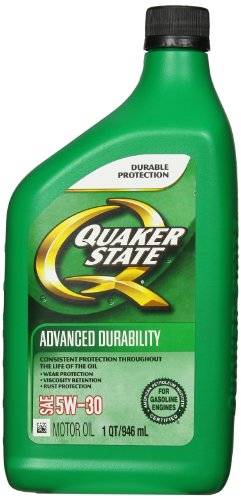 Quaker state 550024135 sae 5w 30 advanced durability motor for Quaker state advanced durability motor oil review