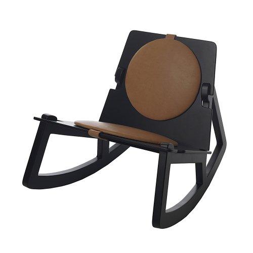 Rock Chair Sitzauflage 2-tlg. braun