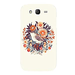 Back cover for Samsung Galaxy Grand Neo Flower Sparrow