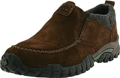 (疯抢)天木兰Timberland Trailscape Slip-On SmartWool智慧羊毛保暖真皮童鞋棕$29.9