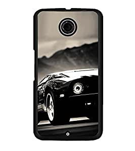 PRINTSWAG CAR Designer Back Cover Case for MOTOROLA GOOGLE NEXUS 6