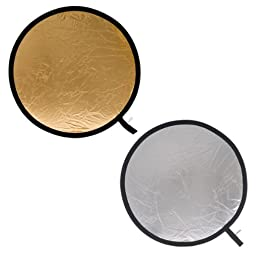 Lastolite LL LR4834 48-Inch Collapsible Reflector - Silver/Gold