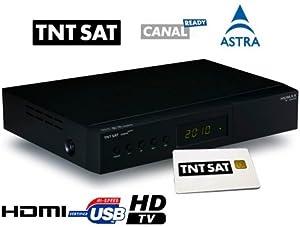 Humax TN5000HD Récepteur TNT Satellite HD Noir