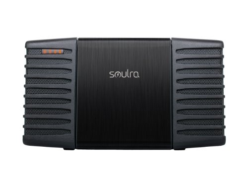 Etón Soulra Solar Powered Sound System for iPod and iPhone (Black)