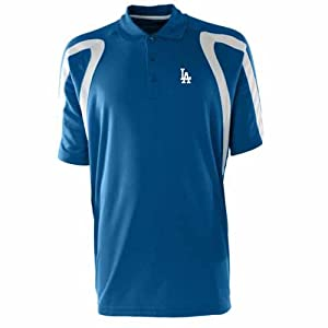 Los Angeles Dodgers Point Polo Shirt (Team Color) by Antigua