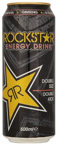 Rockstar Regular Energy Drink 500 ml (Pack of 12)