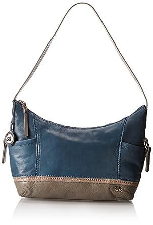 Amazon.com: The SAK Kendra Hobo Shoulder Bag,Vintage Blue Block,One