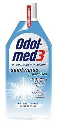Odol-med 3 Samtweiss Polarfrisch Mundspülung, 500 ml