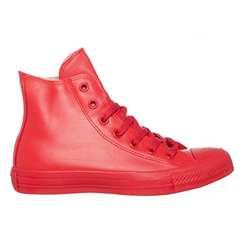 Converse Chuck Taylor All Star Rubber Hi Unisex Rubber Trainers Red - 40 EU