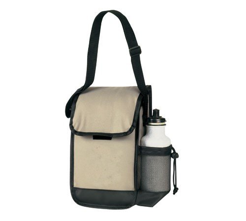 Yens® Fantasybag Executive Lunch Bag w/ Bottle Holder-Khaki,AC-6696 - 1