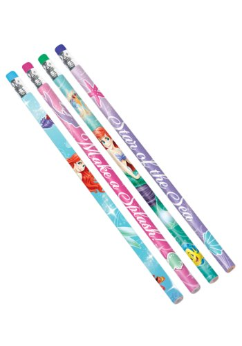 The Little Mermaid Pencils 12ct - 1