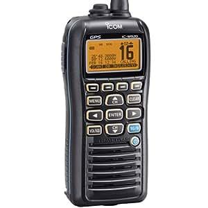 ICOM IC-M92D 01 Handheld VHF Marine Radio with Internal GPS