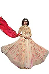Shayona Net With Embroidery Work & Stone salwar suit
