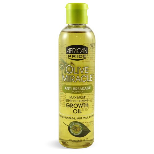 African Pride Olive Miracle Growth Oil
