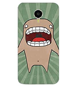 ColourCraft Cartoon Shark Design Back Case Cover for MEIZU M3 NOTE