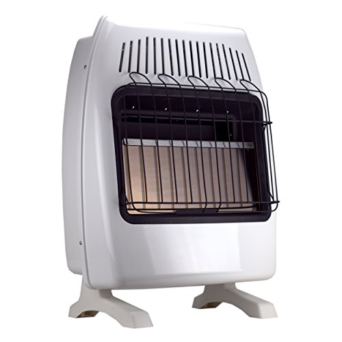 SUPERSPACE 20,000 BTU Natural Propane Gas Wall Heater Vent-free Space Heaters Includes Wall-mounted and Base-legs (Gas Heater Wall Unit compare prices)