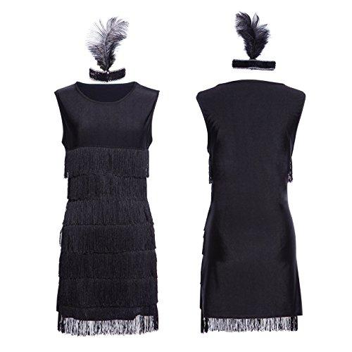 1920s-1930s-Ladies-Fringed-Flapper-Costume-Flapper-Dress-Headpiece