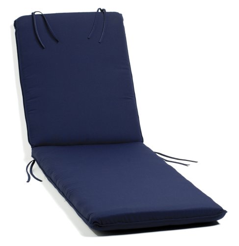 Oxford Garden Chaise Lounge Cushion, Blue