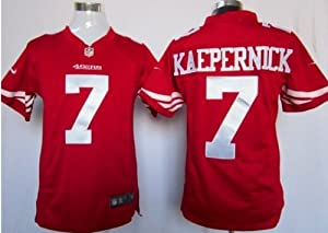 Colin Kaepernick San Francisco 49ers Red Jersey 52 XXL by Field