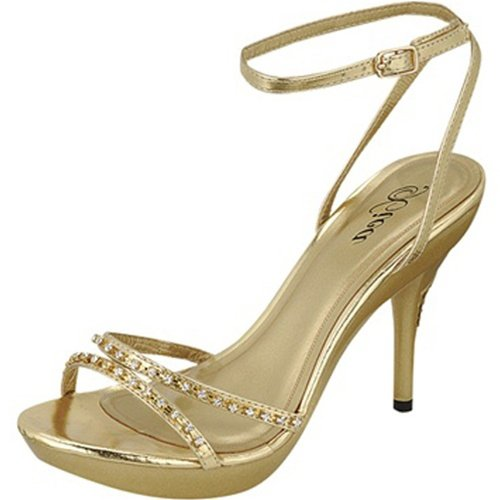 Damita K Women's Nudy-01 Gold Xica Collection