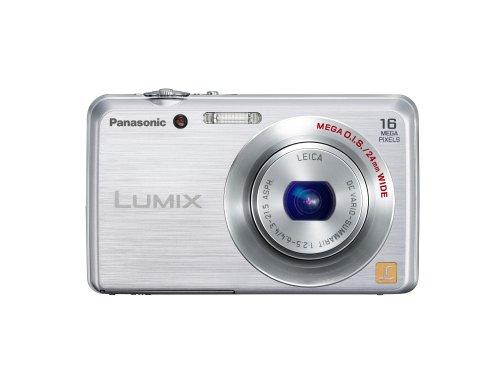 Panasonic Lumix DMC FH-8 16.1 MP Digital Camera with 5x Wide Angle Optical Image Stabilized Zoom (Silver) (Panasonic Dmc Fh5 compare prices)
