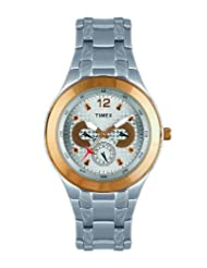 Timex E Class Multi Function  Chronograph Silver Dial Men's Watch TI000F90600