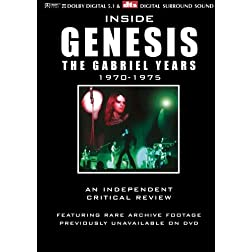 Inside Genesis The Gabriel Years 1970-1975